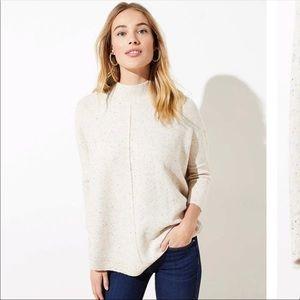 NWT LOFT Poncho Sweater